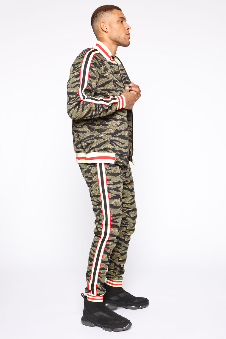 Connor Track Jacket - Camouflage