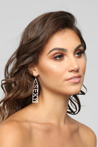2 Sexy For You Earrings - Silver