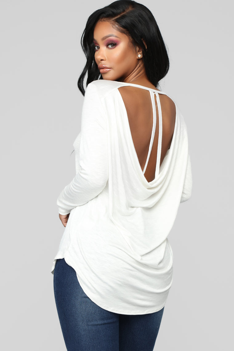 Fly Away With Me Top - Off White