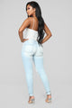 Beach Bum Jeans - Light Blue