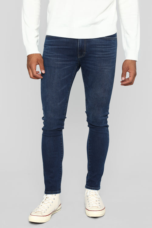 Steer The Game Skinny Jeans - Medium Wash