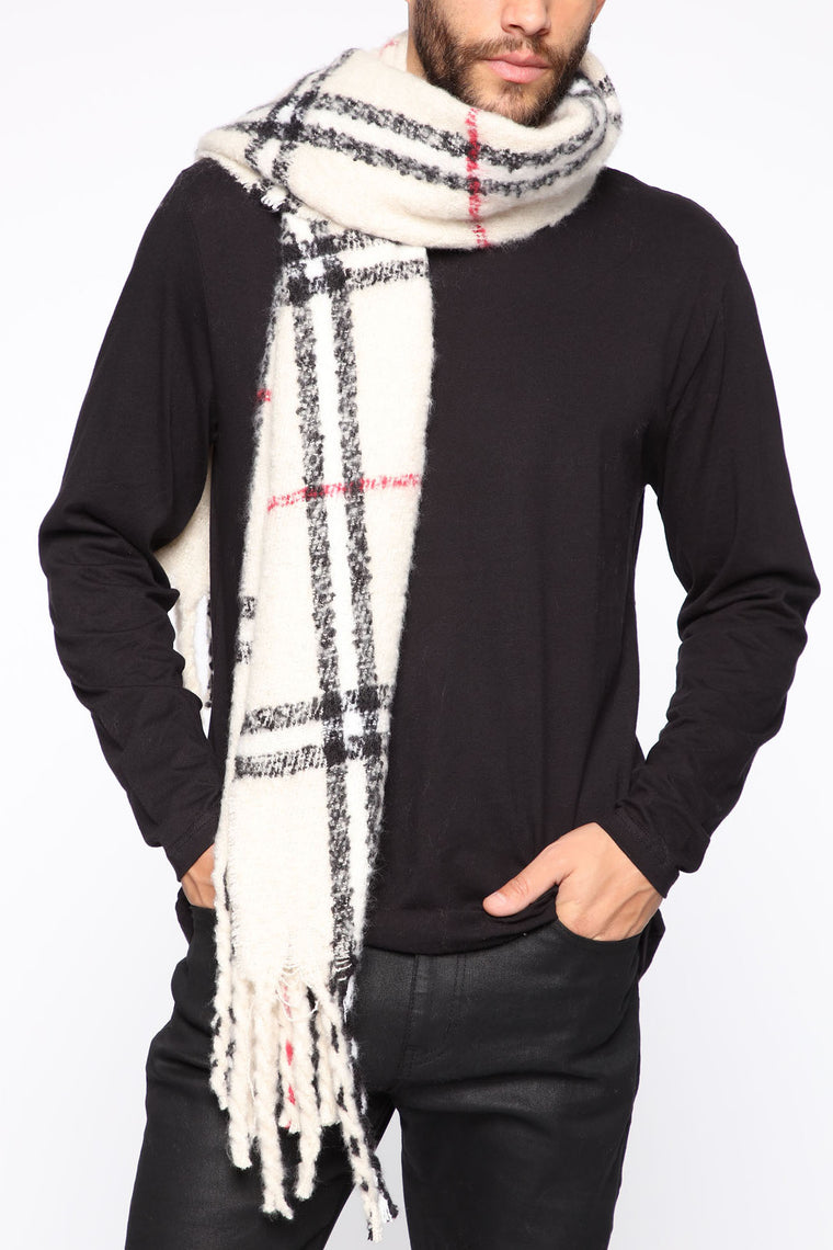 Everyday Scarf - White/combo