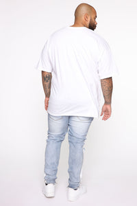 We Can Do It Short Sleeve Tee - White/Combo Angle 10
