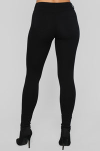 Better Than The Rest Ponte Pants - Black