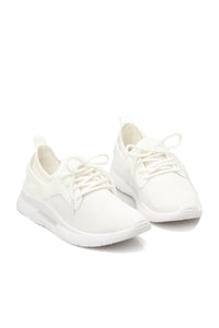Just Like Lightening Sneaker - White