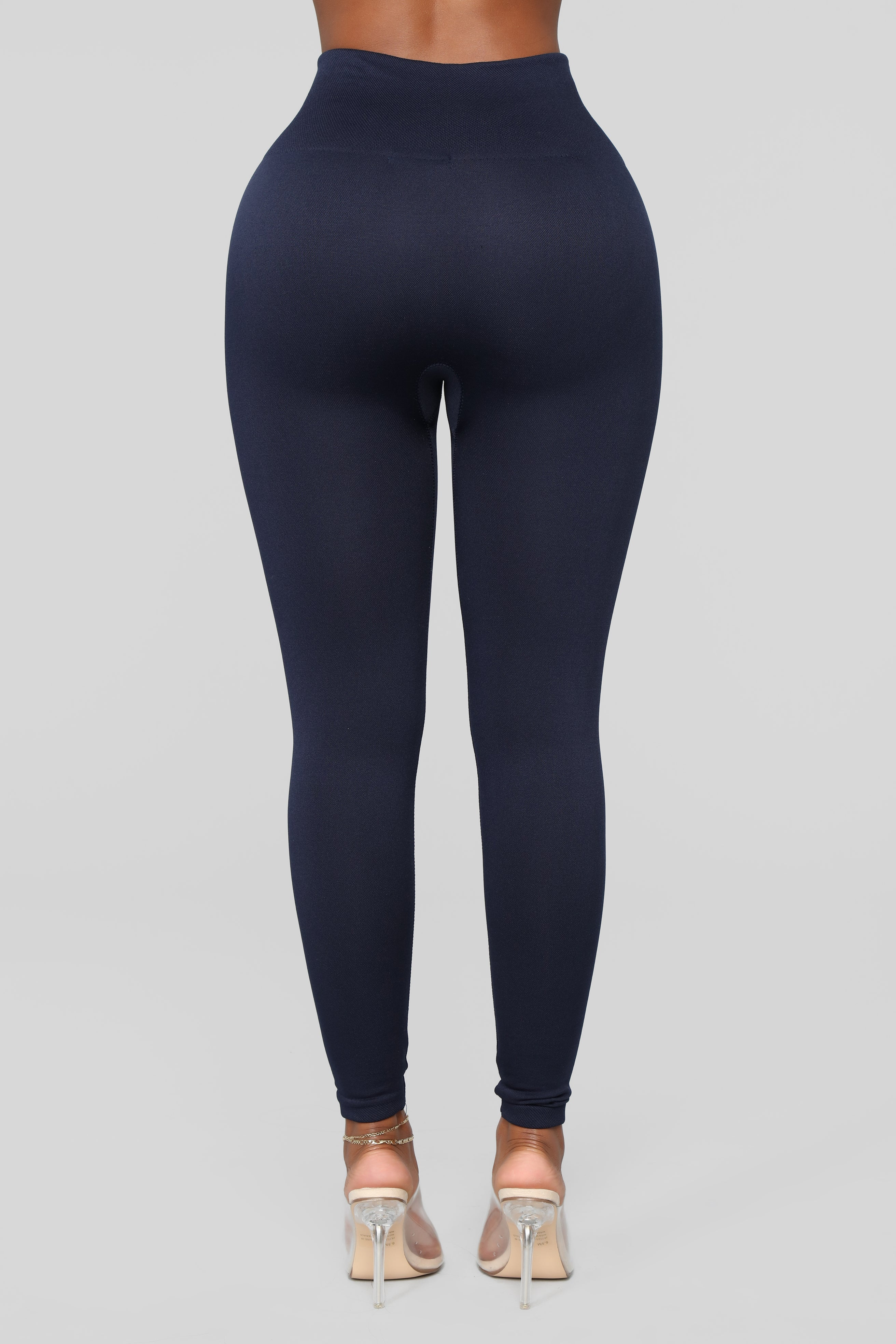 976d466462cc9 Warm As Can Be Fleece Lined Leggings - Navy