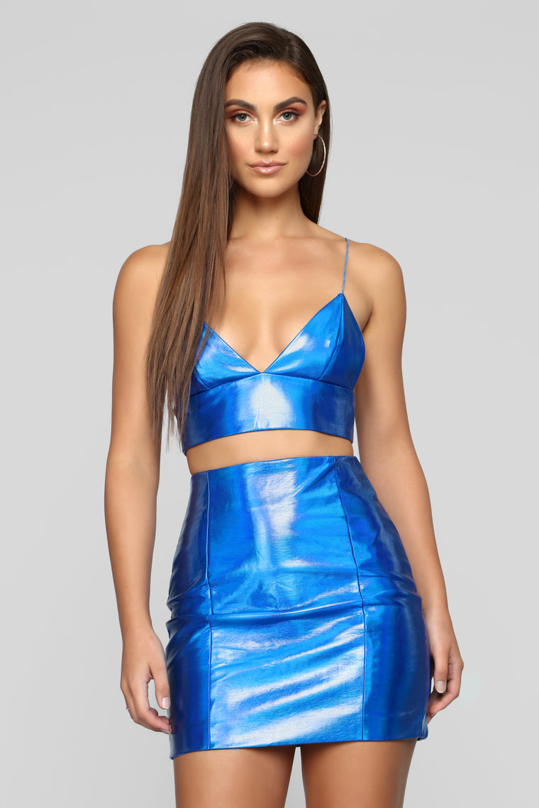 Feel The Electricity PU Set - Royal