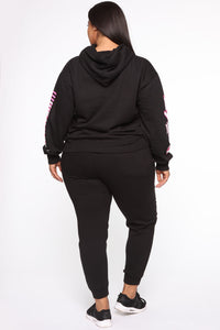 Foreign Babe Hoodie - Black Angle 13