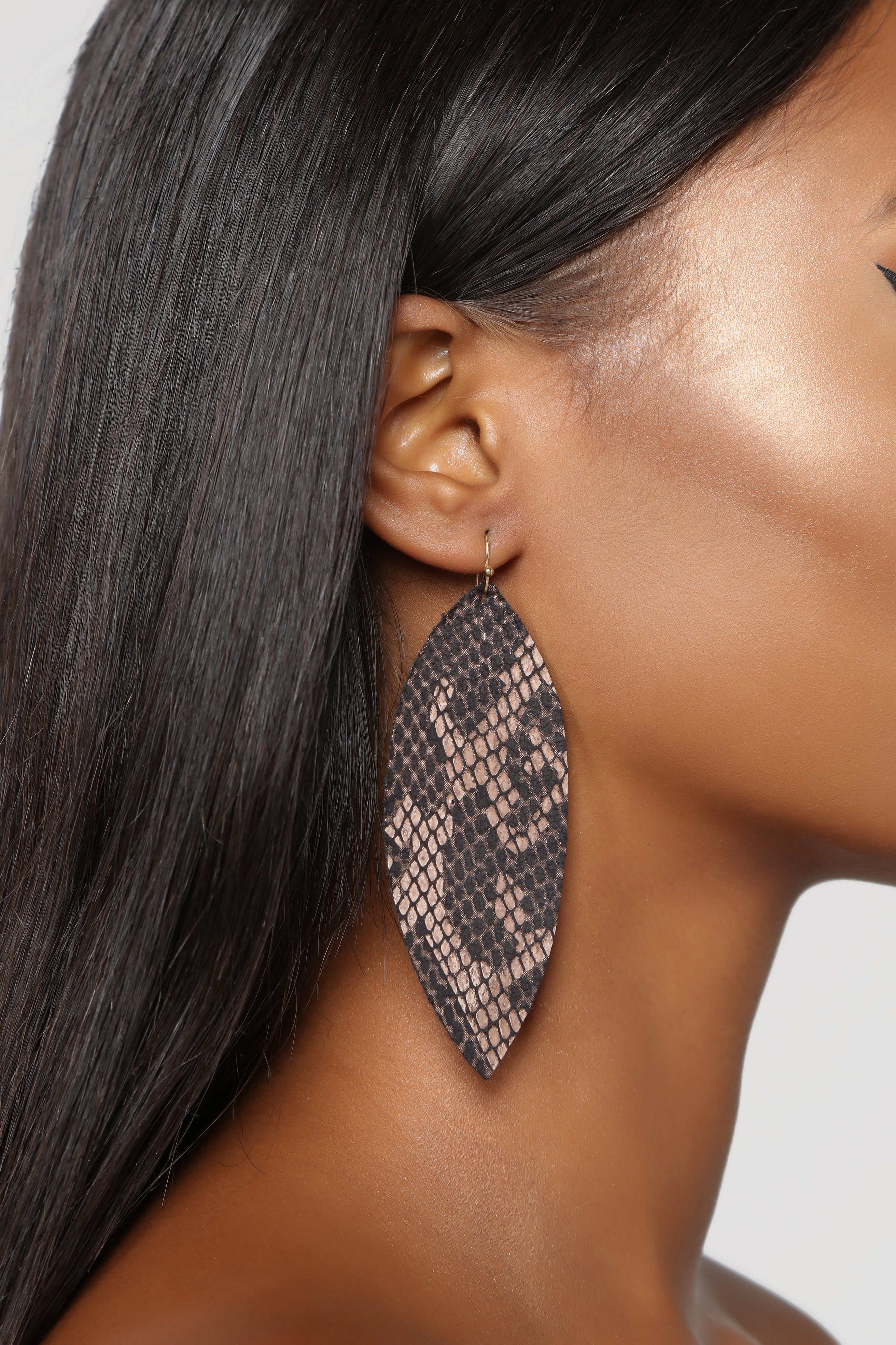 Slither Your Way Earrings Snake