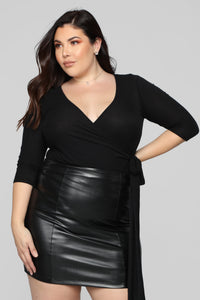 Better In Time Top - Black