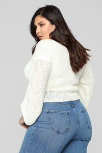 Friends With You Sweater - Ivory