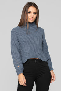Winter Season Sweater - Blue