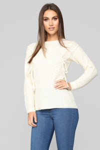 Ready Or Not Sweater - Ivory