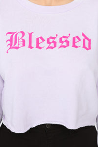 Beyond Blessed Top - Lavender