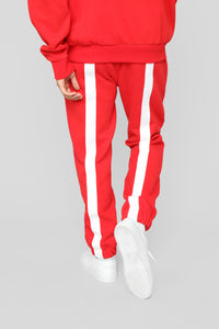 Redemption Jogger - Red/White