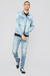Boston Denim Jacket - Light Wash
