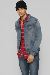 Atrox Denim Jacket - Dark Wash