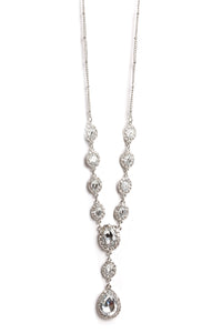 Oval You Necklace - Clear