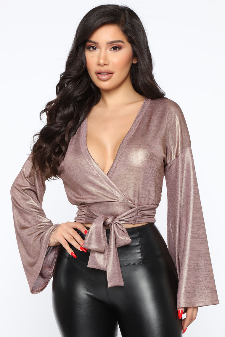 My Love Is Your Love Top - Blush/Gold