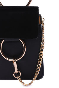 """Hangin' Around You"" Crossbody - Black Angle 4"