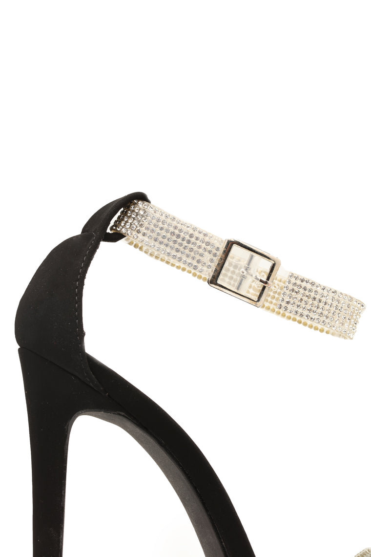 Truth Is Heeled Sandals - Black