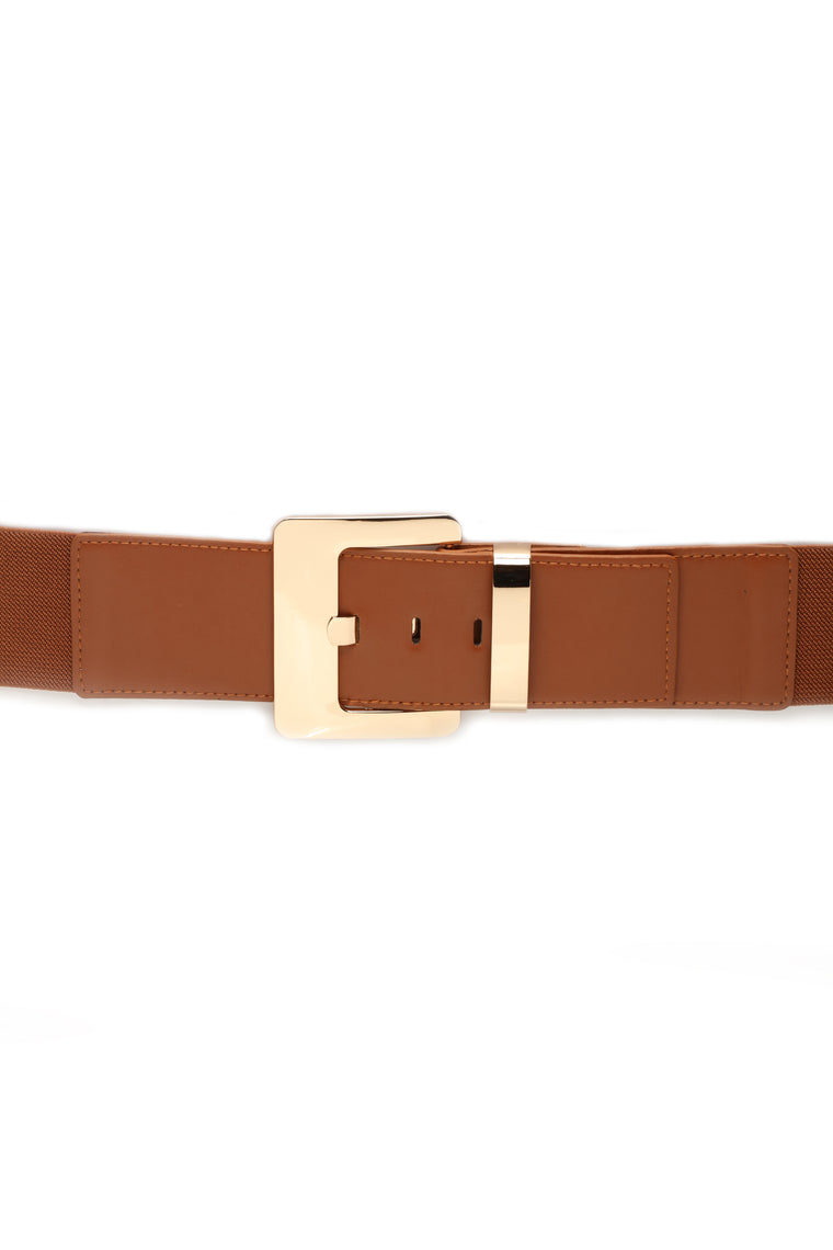 Anything But Squared Belt - Tan