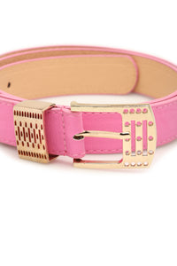 Do What's Bright Belt - Pink
