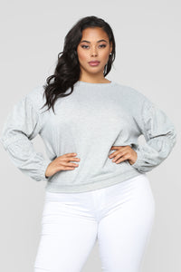 Not Your Ordinary Sweatshirt - Heather/Grey
