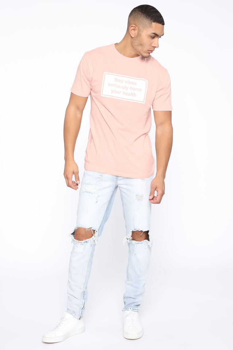 Health Short Sleeve Tee - Pink