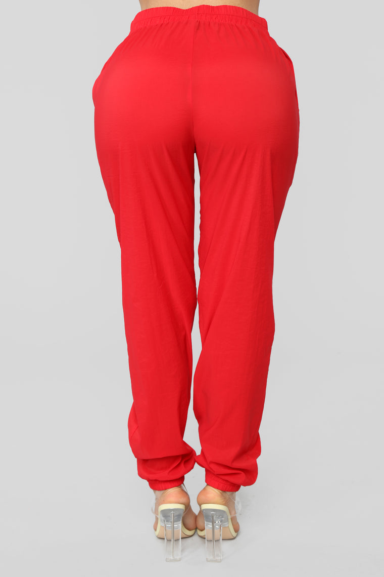 She's A Rida Lounge Set - Red/White