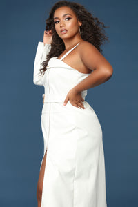 She Bad Maxi Dress - White