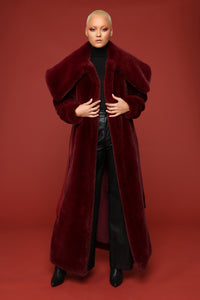 Got It Like That Coat - Burgundy