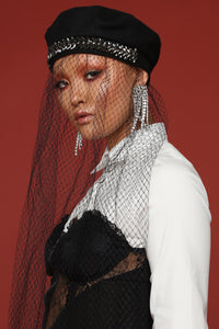 So Couture Beret - Black