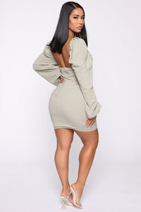 Classic Type Mini Dress - Mint Angle 5