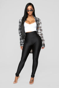 Brianne High Rise Leggings - Black