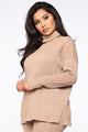 I'm The One Sweater Set - Taupe
