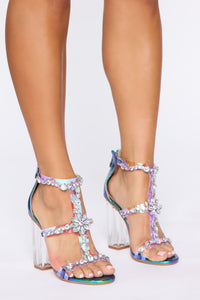 I Think I Do Heels - Multi Color
