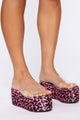 Way Up There Flat Sandal - Leopard