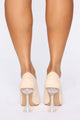 Extra Business Pumps - Nude