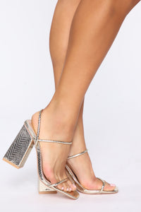 Jazz It Up Heels - Gold