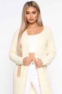 Picture Perfect Duster - Cream Angle 2