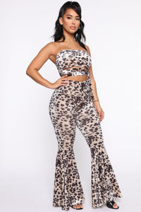 So Touchy Velvet Set - Leopard