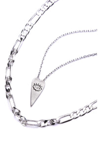 Love At First Sight Necklace - Silver