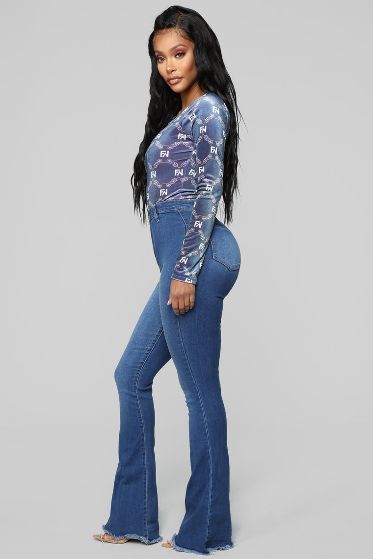 Gotta FN Have It Bodysuit - Blue