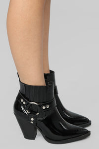 Saddle-Up II Bootie - Black