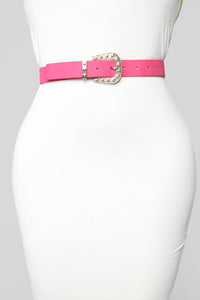 A Lot Brighter Belt - Hot Pink