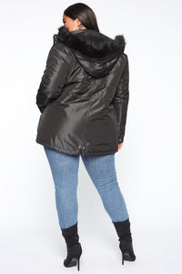 One To Watch Anorak Jacket - Black Angle 9