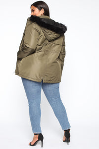 One To Watch Anorak Jacket - Olive Angle 10