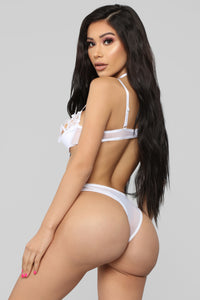 It's Your Love Bra & Panty Set - White