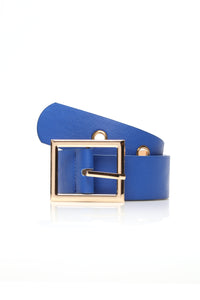 Not Too Square Belt - Cobalt